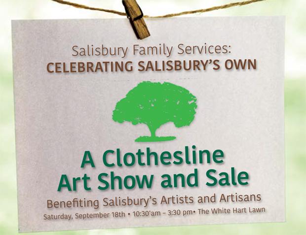 Salisbury Clothesline Art Show and Slae